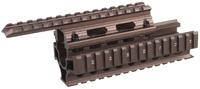 AK Handguard RIS Quad Rail System Bronze