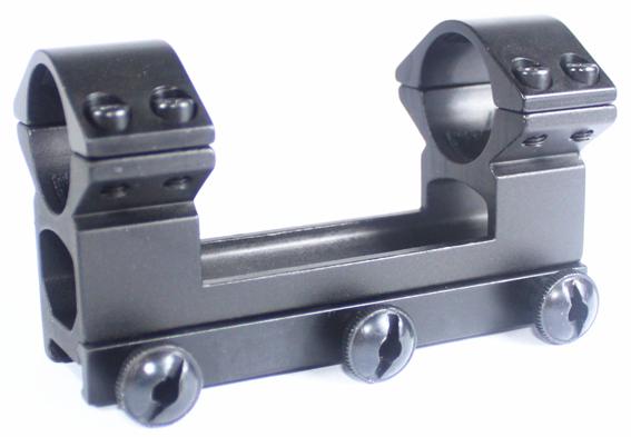 25.4mm OnePiece High Weaver Mount