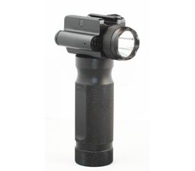 Cyclops Flashlight w/ Red Laser