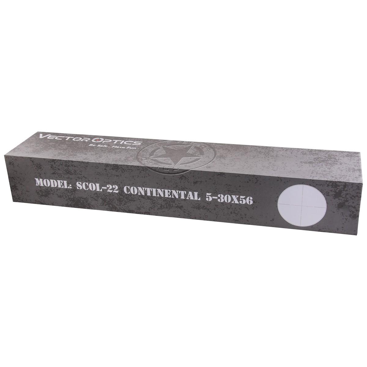 Continental 5-30x56SFP Riflescope