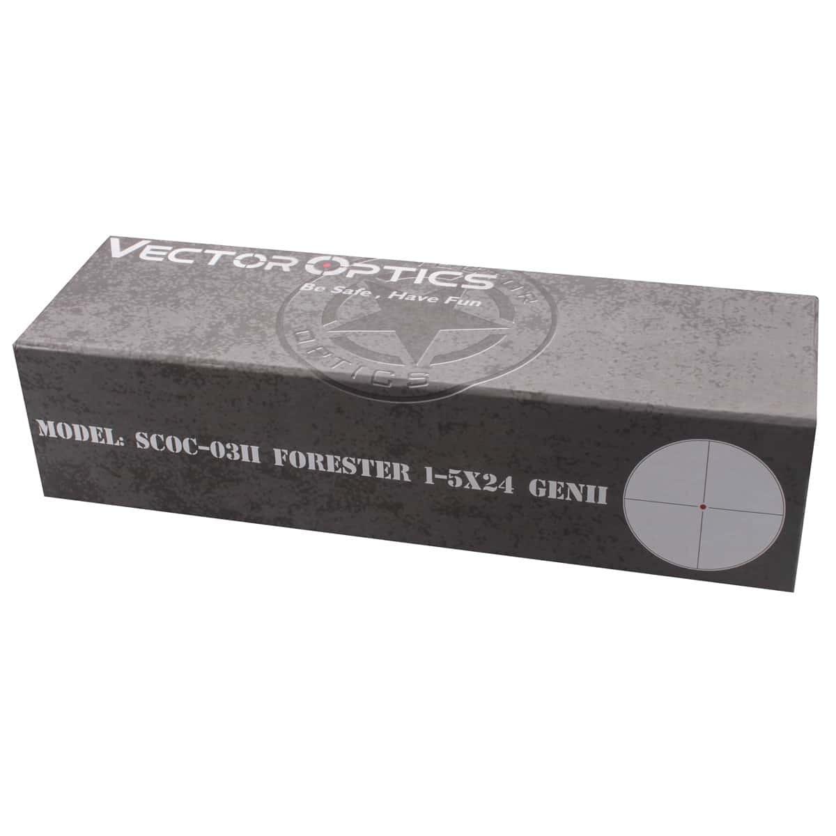 Forester 1-5x24SFP GenII Riflescope