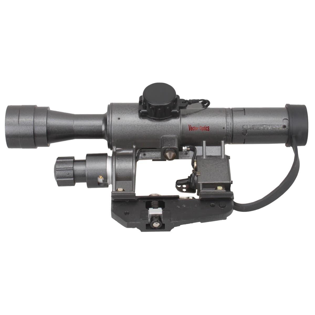 SVD Dragunov 4x24FFP Riflescope