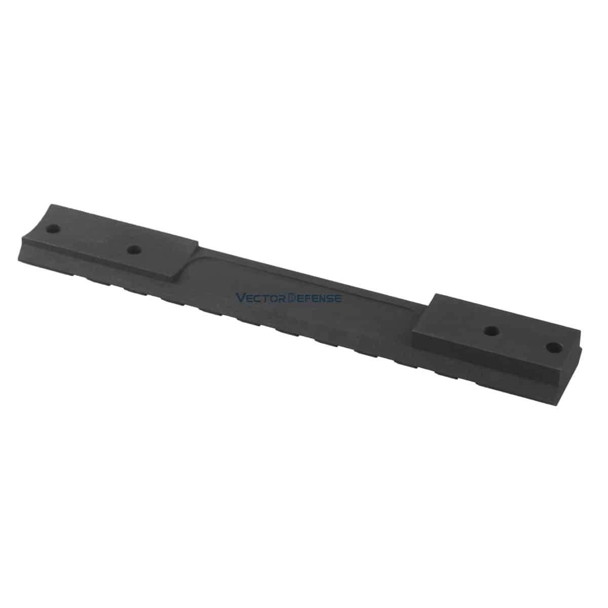Remington 700 Short 20MOA Steel Picatinny Rail