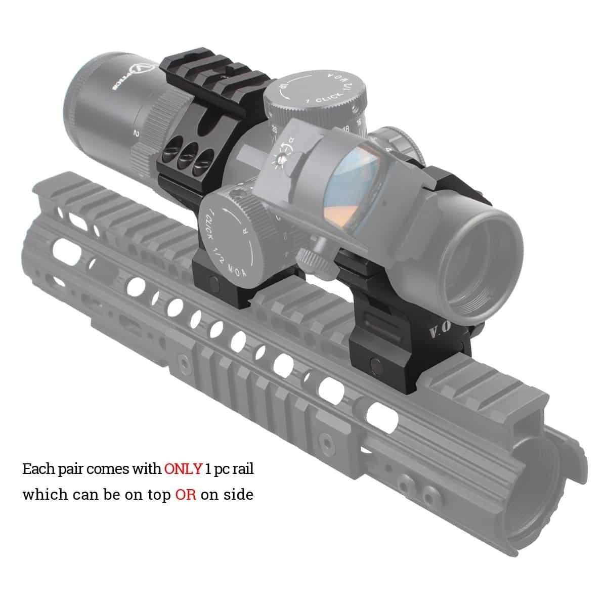 35mm X-ACCU Scope Ring High