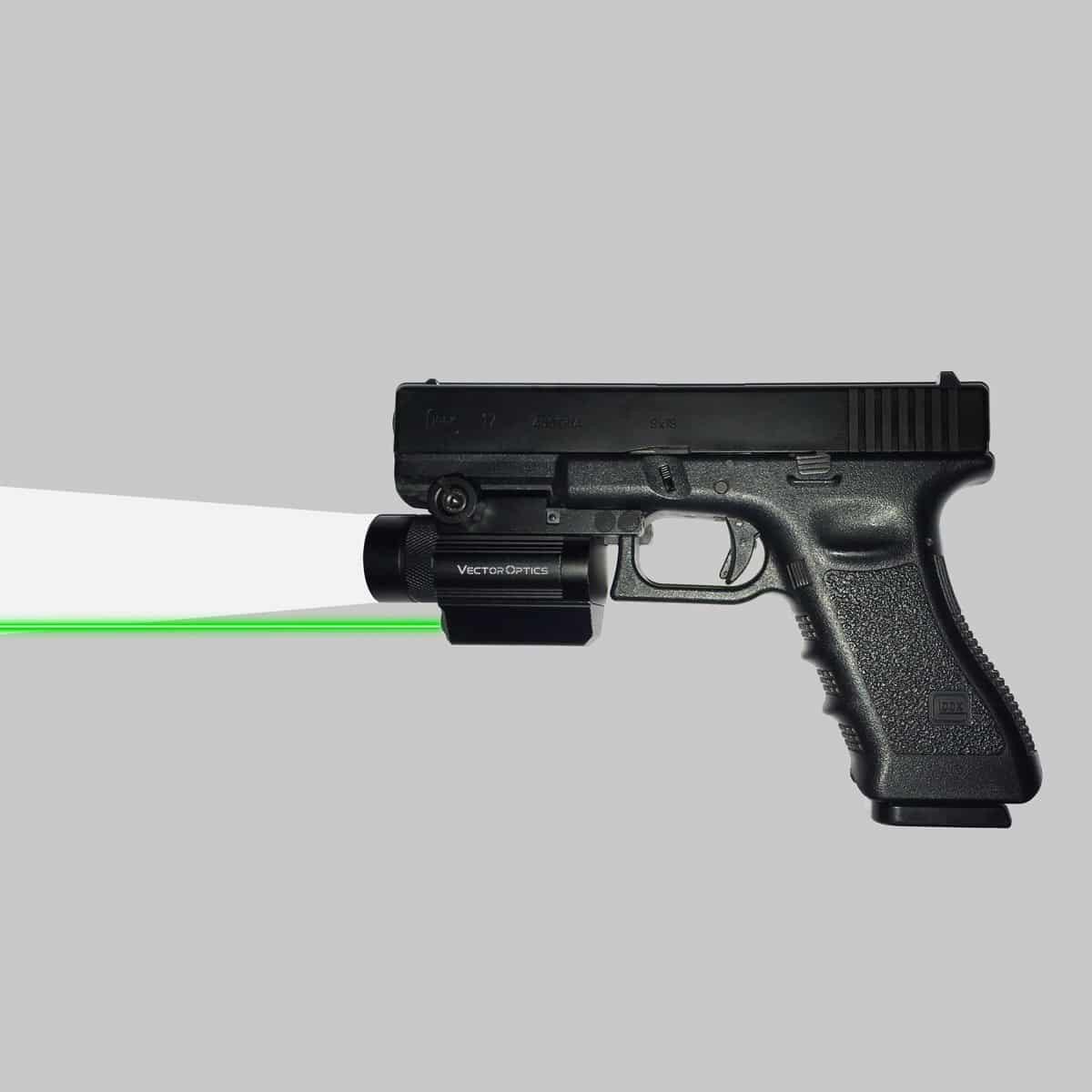 Doublecross w/ Green Laser