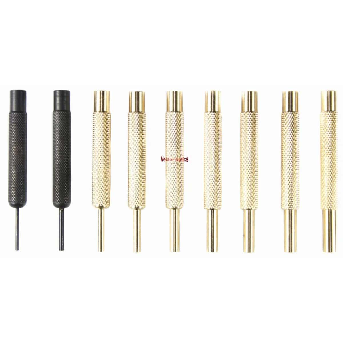 9 Pcs Gun Smith Punch Tool Kit