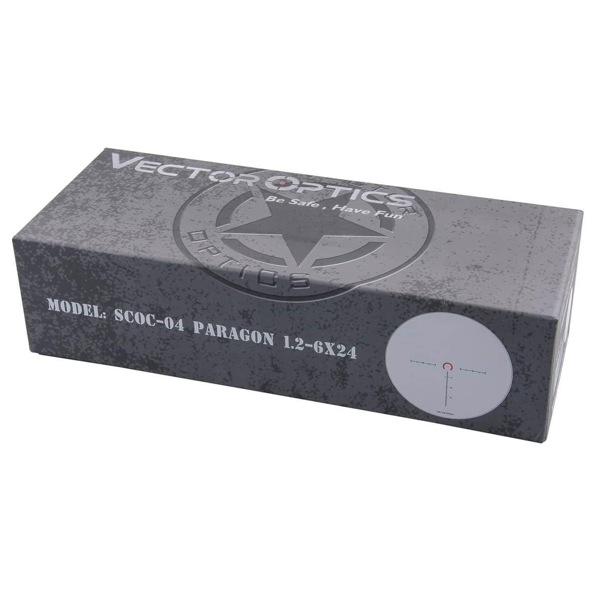 Paragon 1.2-6x24SFP IR Compact Riflescope
