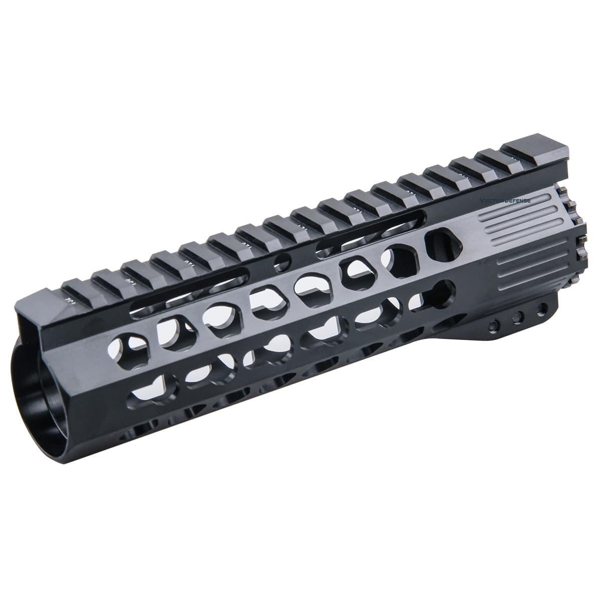 Slim KeyMod Free Float 7'' Handguard Rail