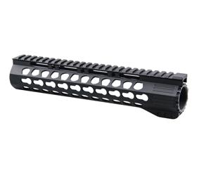 Slim KeyMod Free Float 10'' Handguard Rail