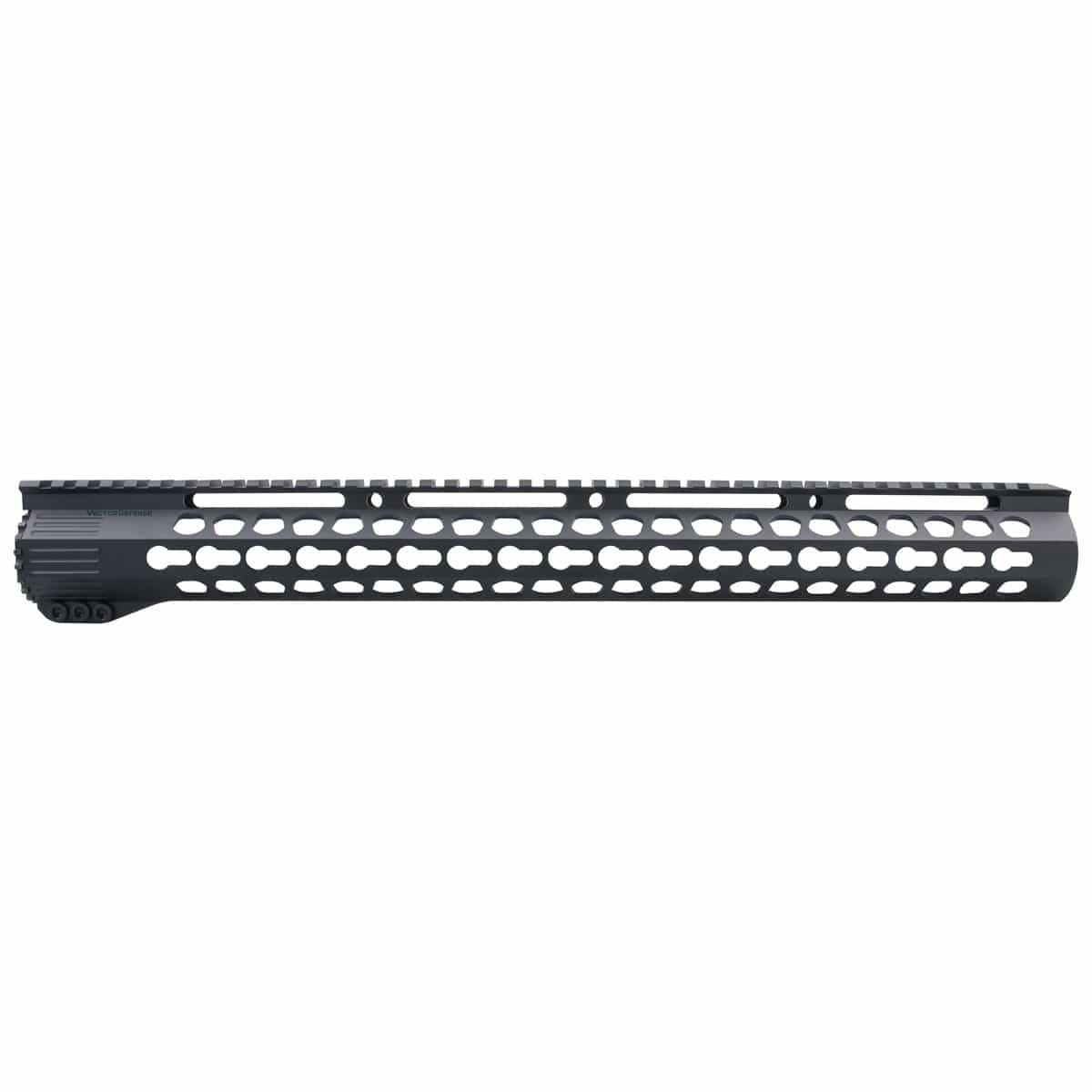 Slim KeyMod Free Float 17'' Ultra Handguard Rail