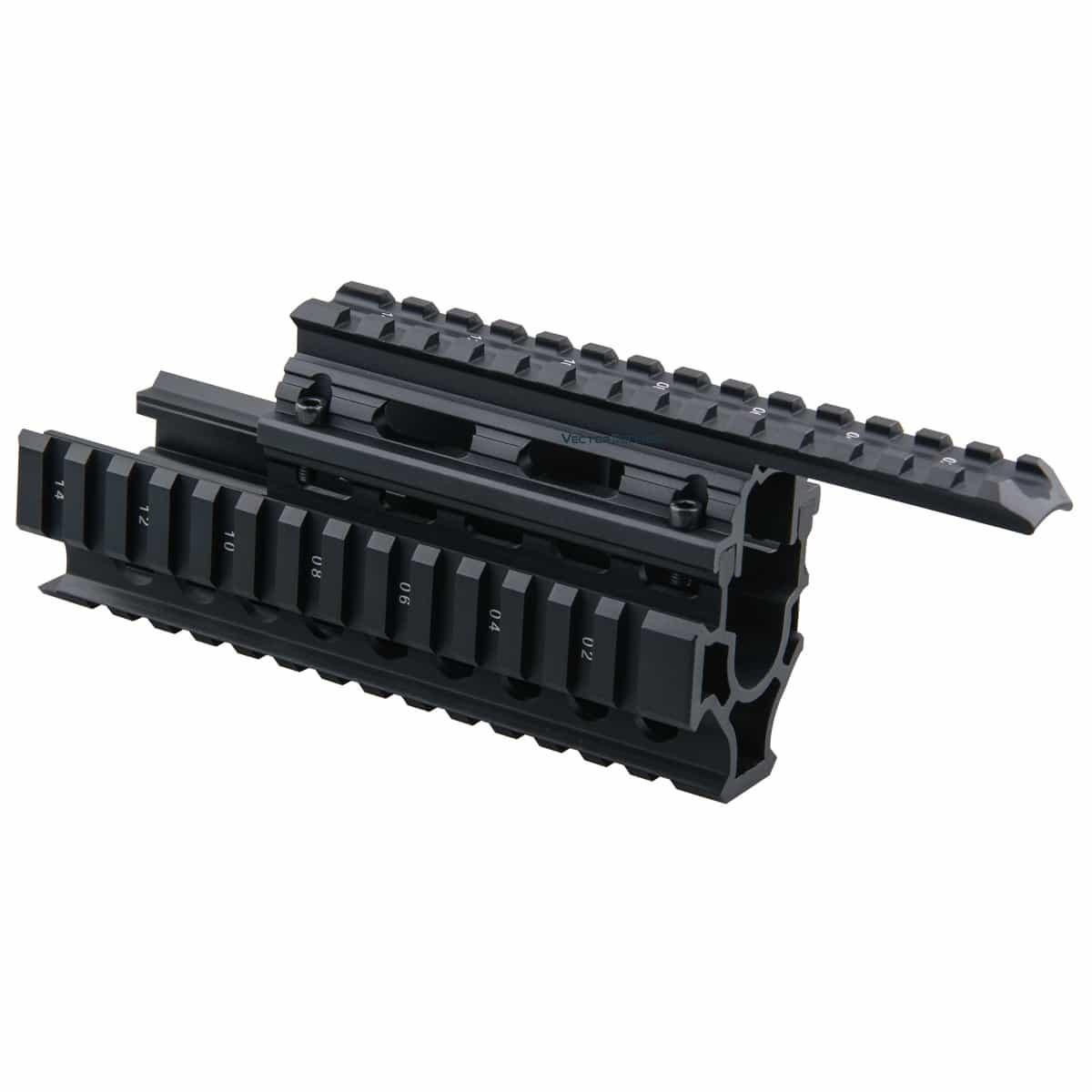 AK Handguard RIS Quad Rail System
