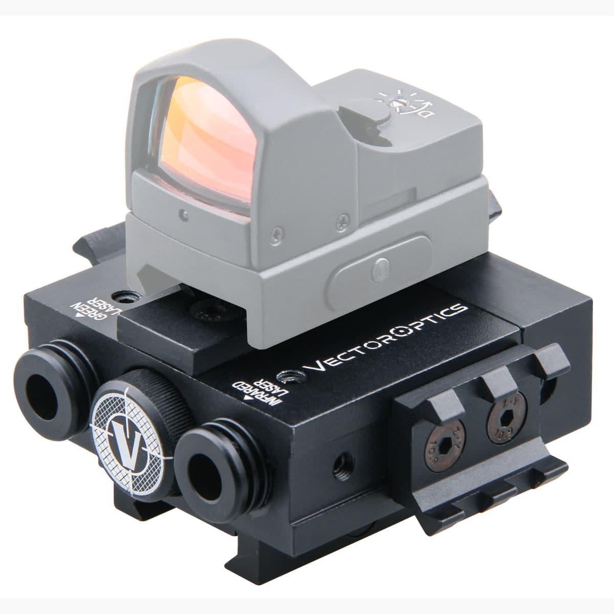 Viperwolf Green Laser / IR Laser Combo