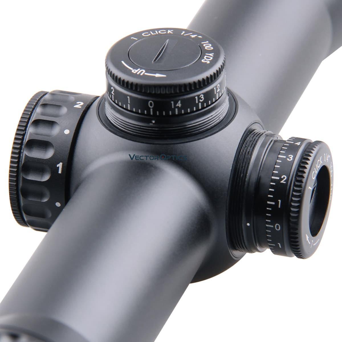 Continental 1.5-9x42SFP Riflescope