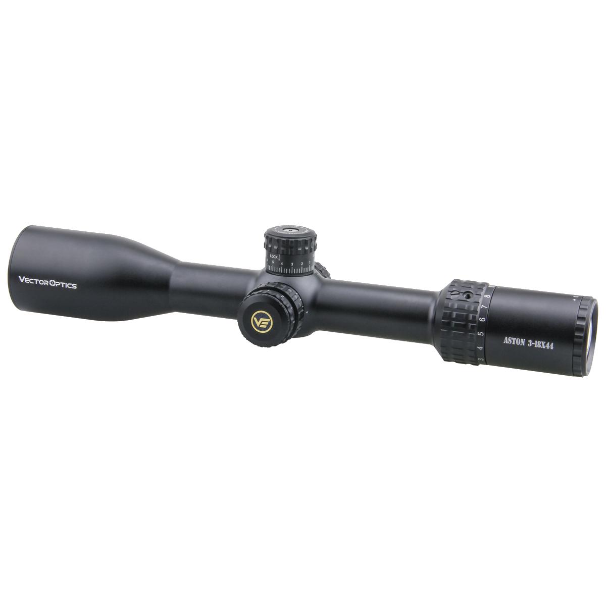 Aston 3-18x44SFP Riflescope