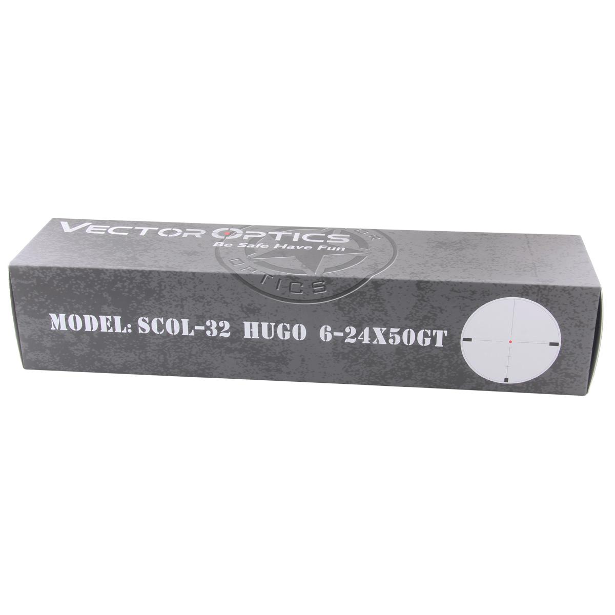 Hugo 6-24x50GT SFP Riflescope