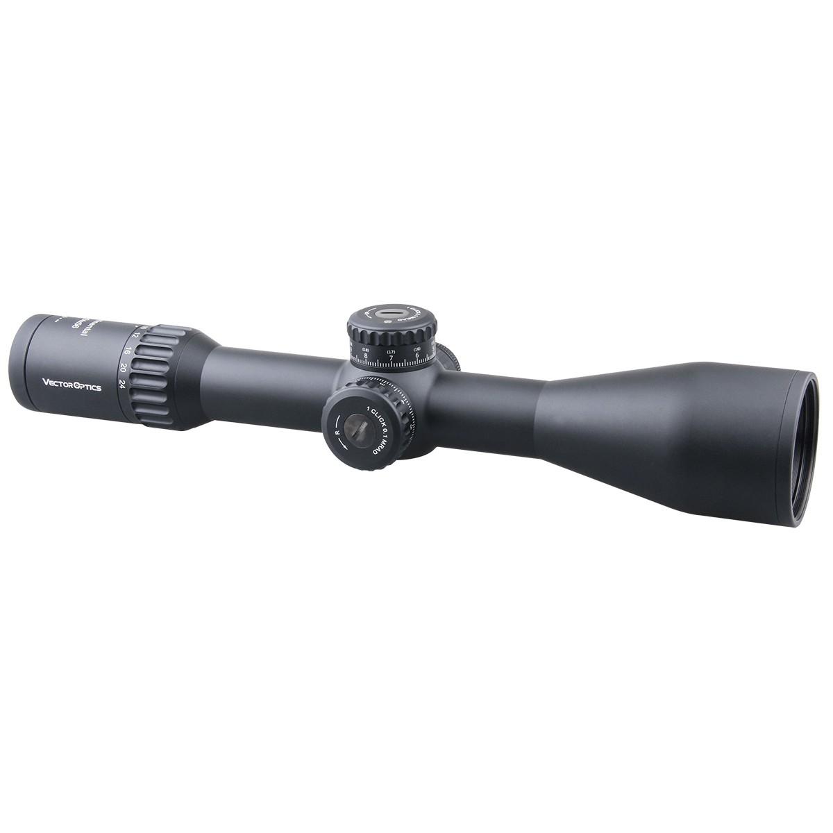 34mm Continental 4-24x56FFP Riflescope
