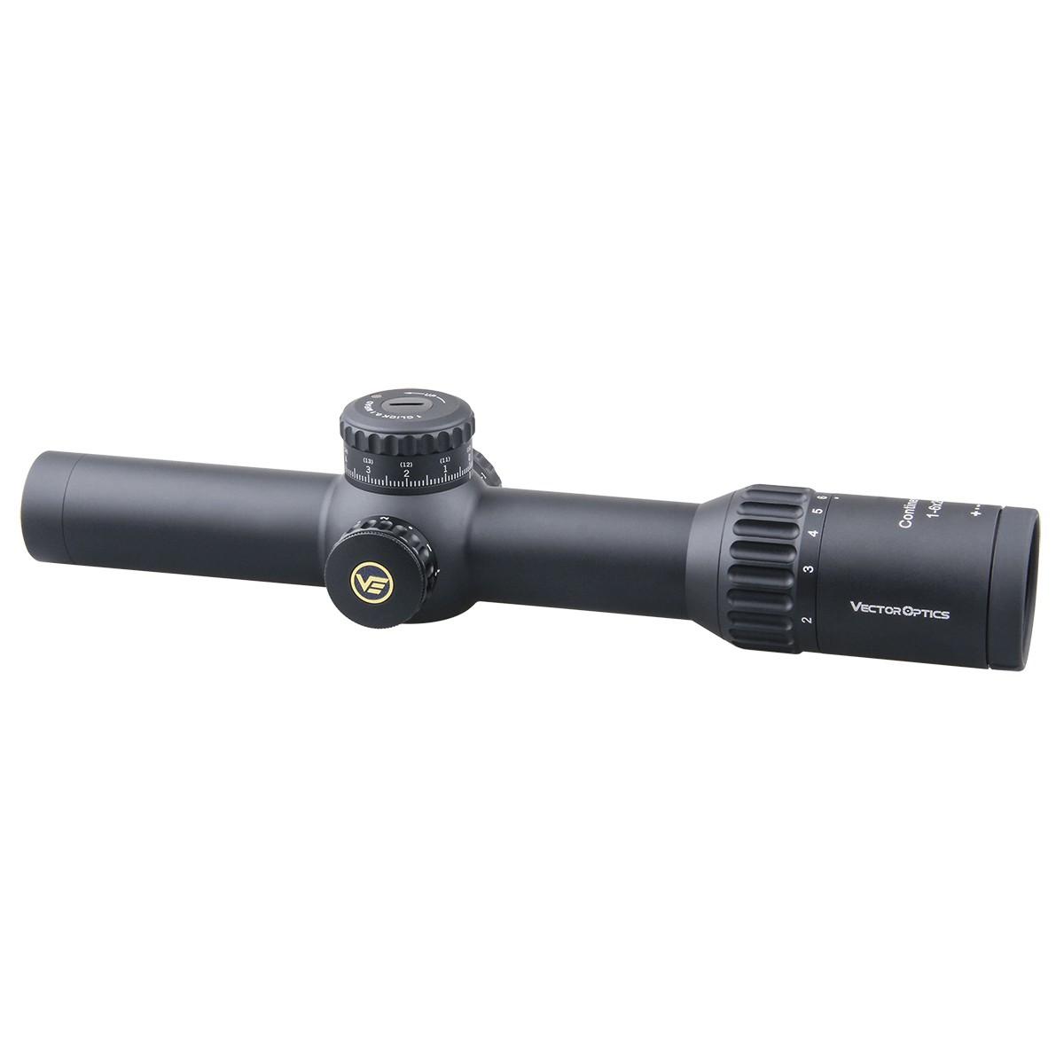 34mm Continental 1-6x28FFP Riflescope