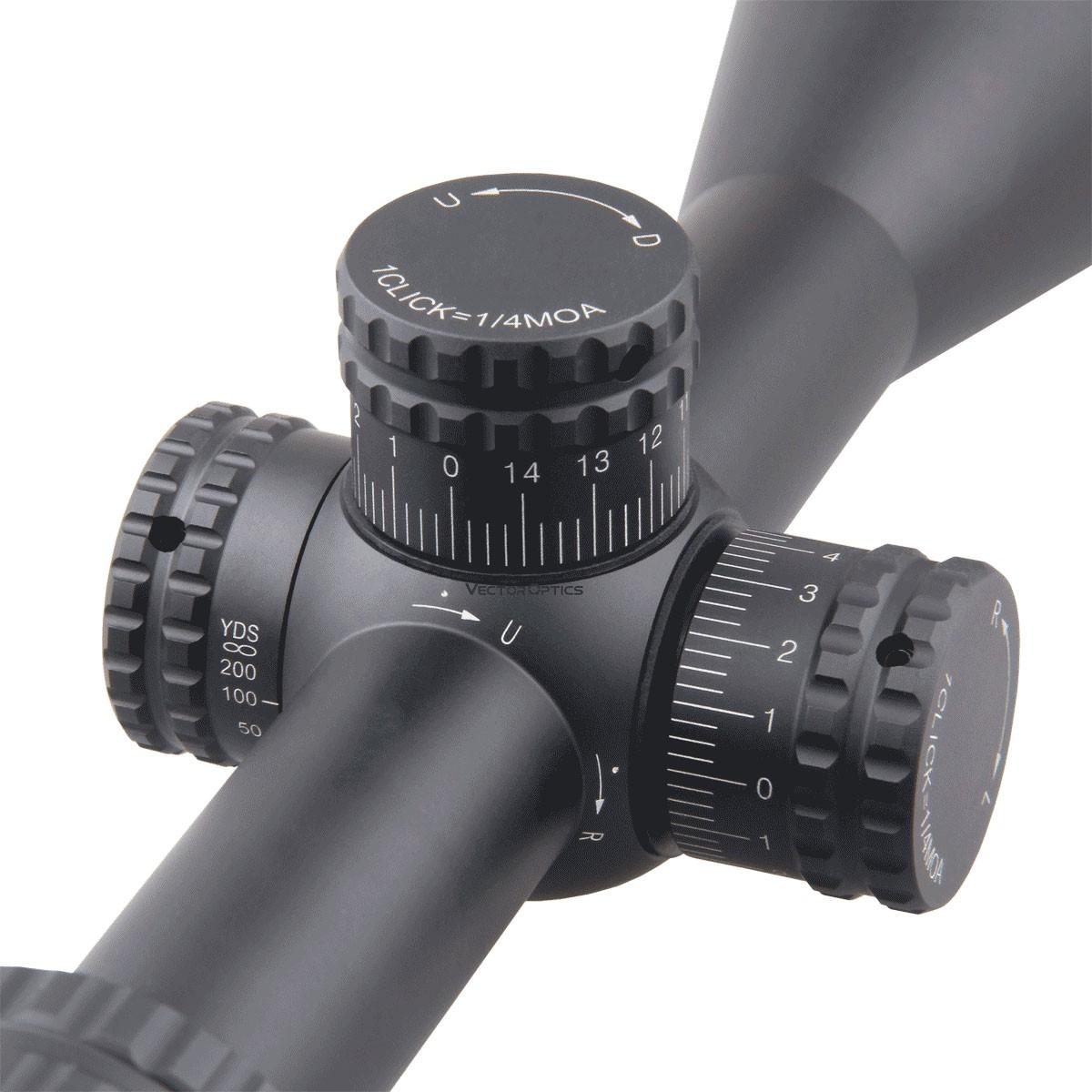 Hugo 3-12x44GT SFP Riflescope