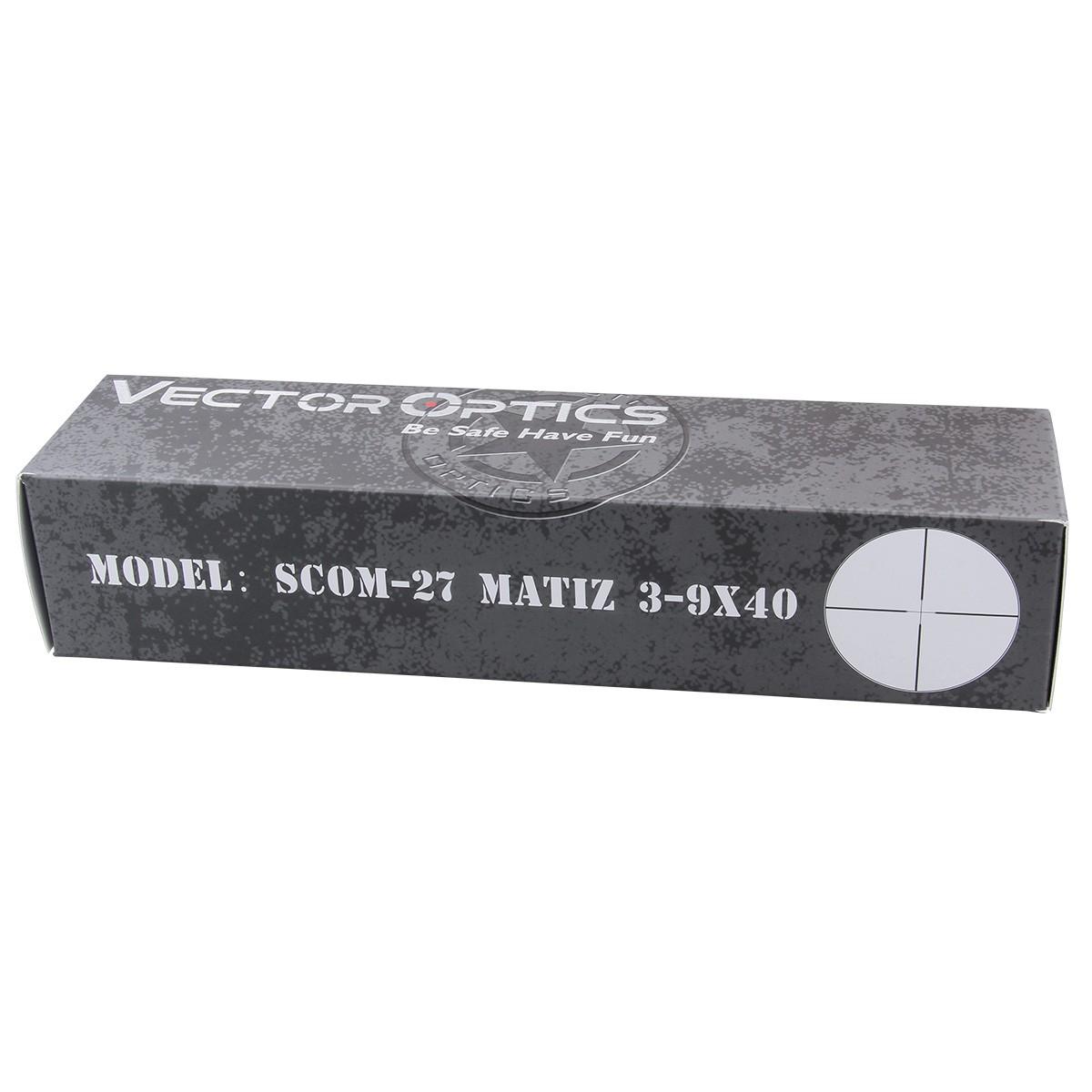Matiz 3-9x40SFP Riflescope