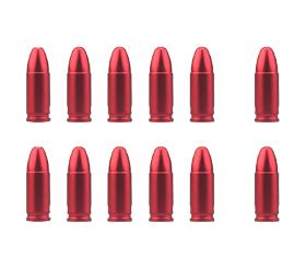 Gunpany 12-Pack 9mm Snap Cap