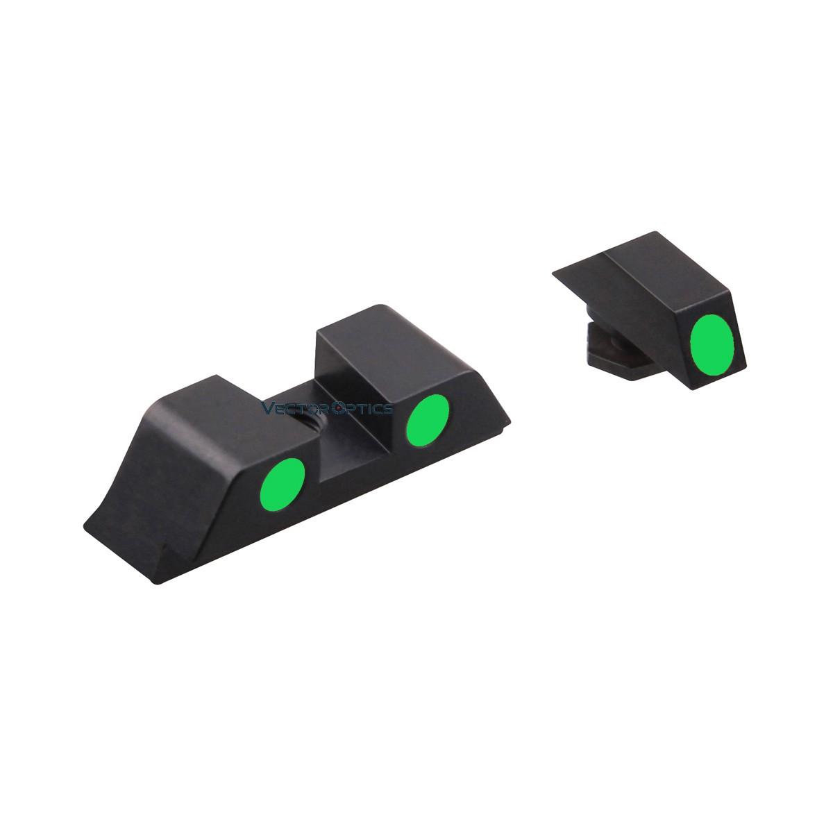 SA Fiber Sights Combo for Pistol