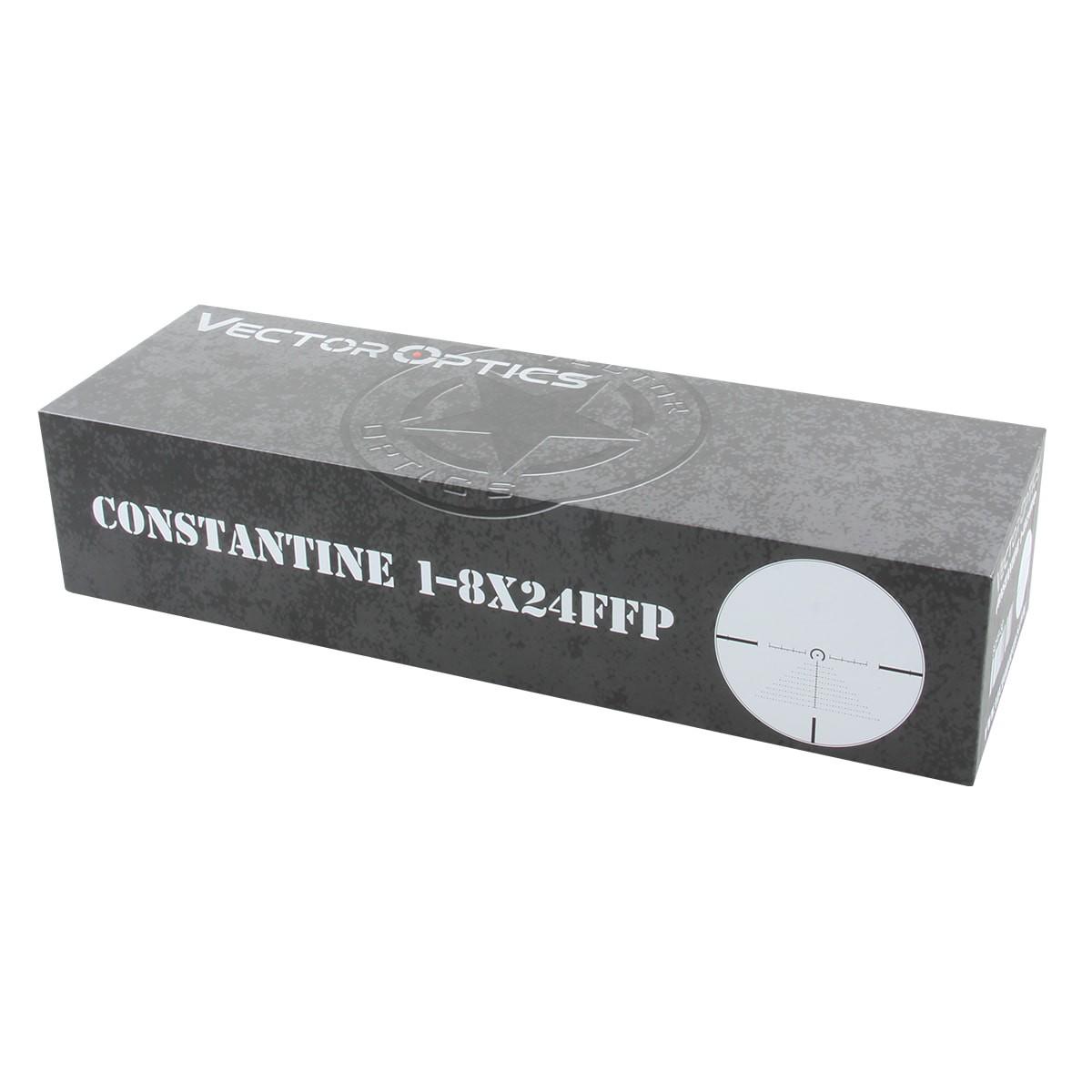 Constantine 1-8x24 FFP Riflescope