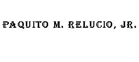 Paquito M. Relucio, Jr.