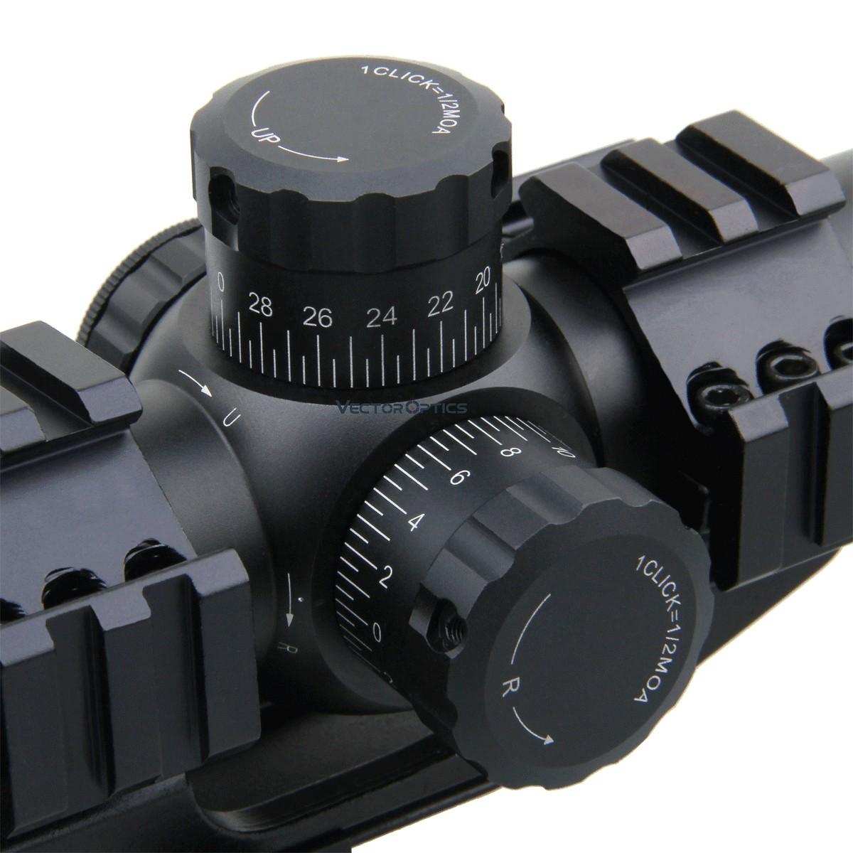 Mustang 1-4x24FFP Riflescope