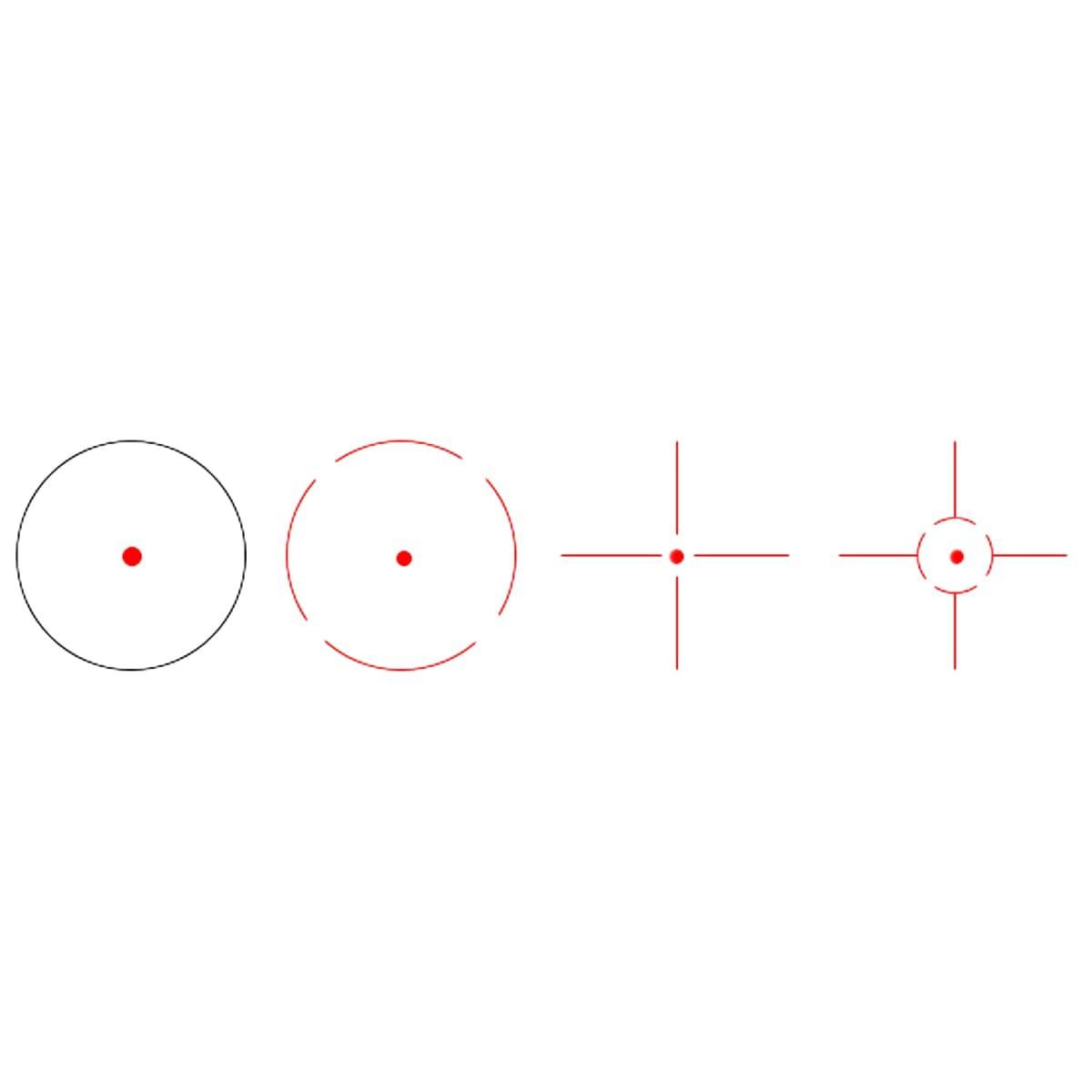 VictOptics Z3 1x22x33 Red Dot Sight Coyote FDE