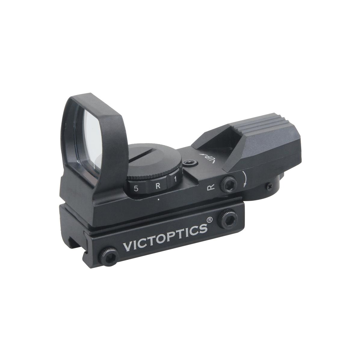 VictOptics Z1 1x23x34 Multi Reticle Red Dot Sight Dovetail