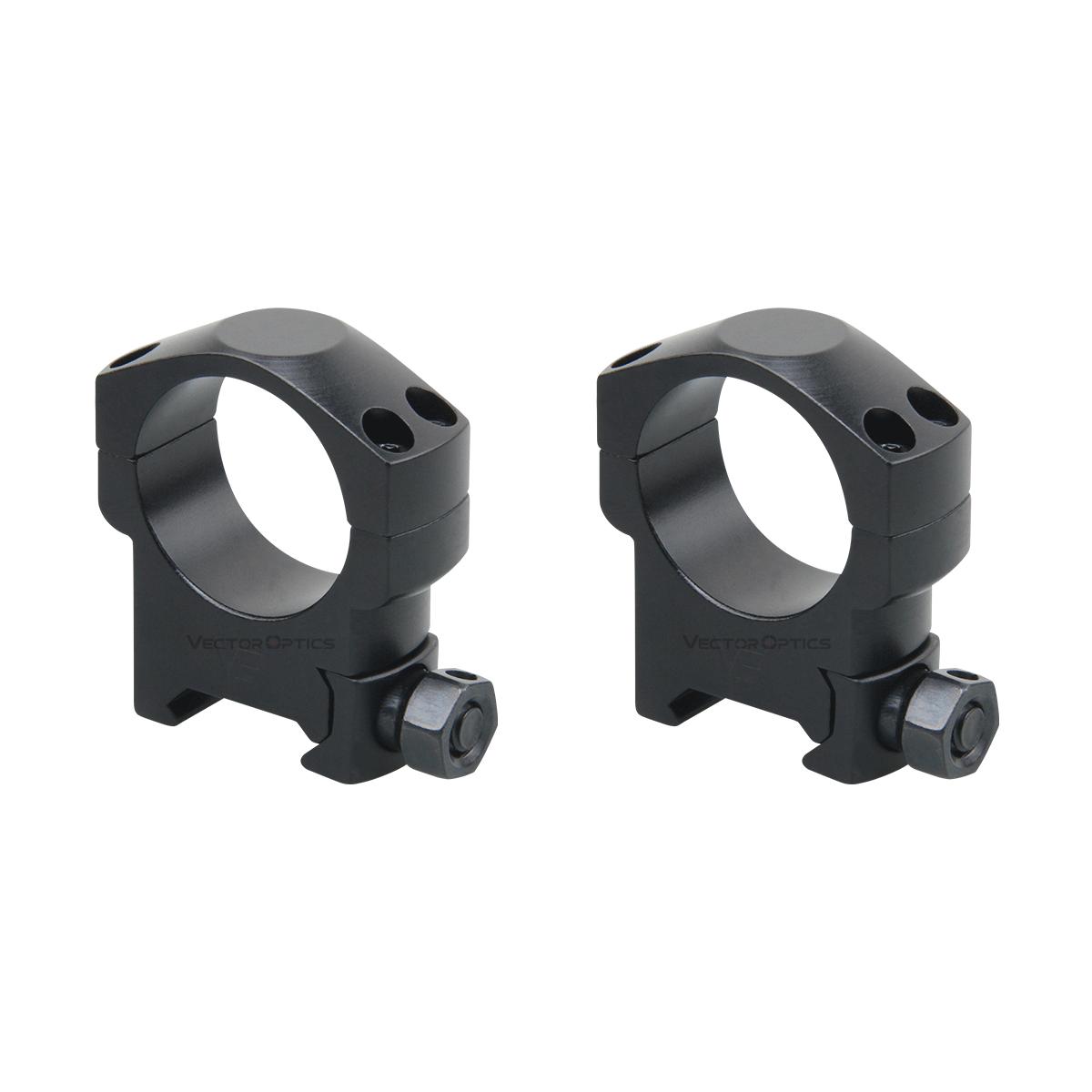 30mm Medium Profile Mark Weaver Scope Rings