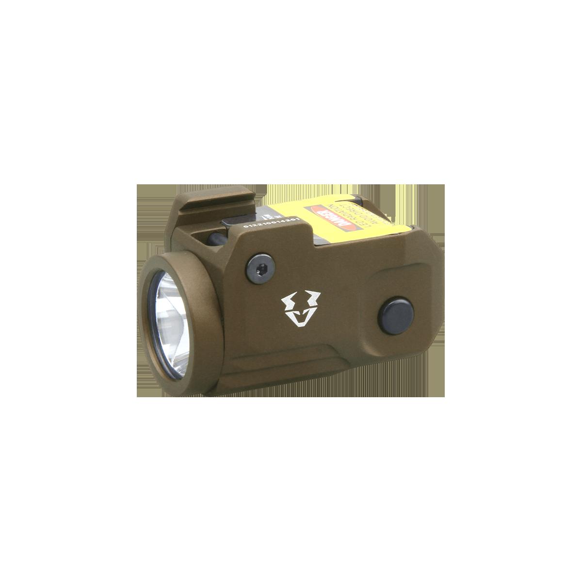 Vaide Scrapper Subcompact Pistol Flashlight FDE