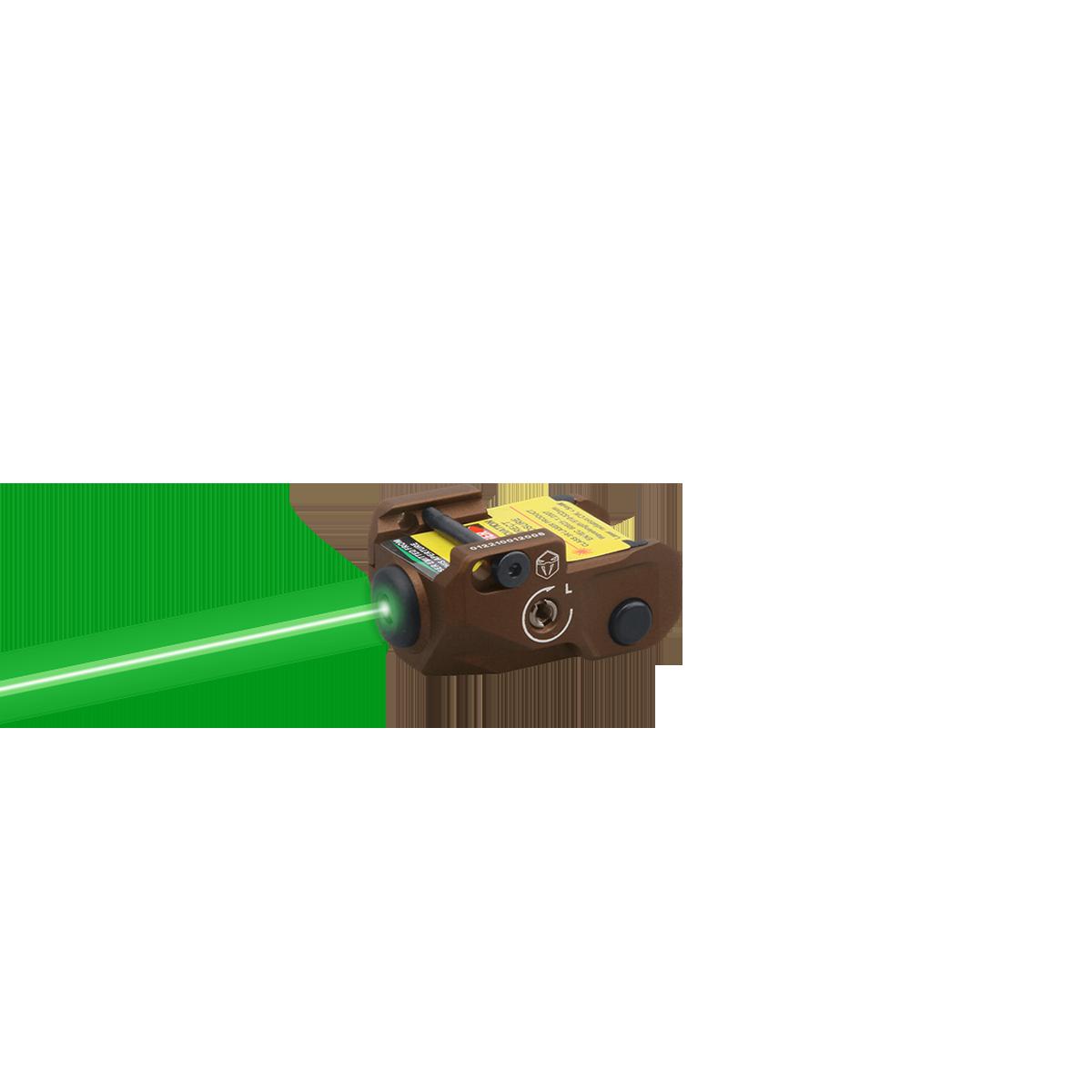 VipeRay Scrapper Subcompact Pistol Green Laser Sight FDE