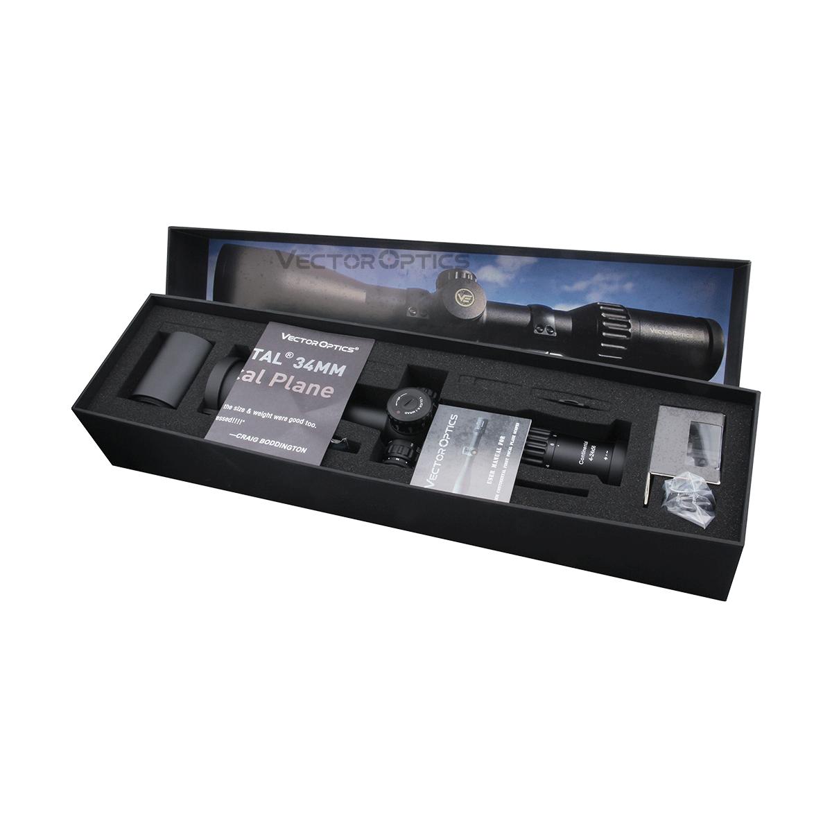 34mm Continental 4-24x56 FFP Riflescope