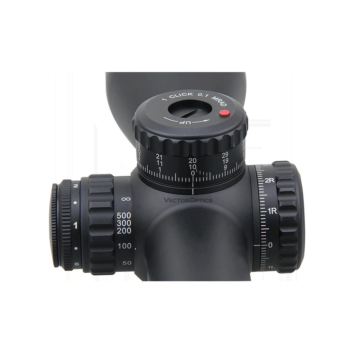 34mm Continental 3-18x50 FFP Riflescope