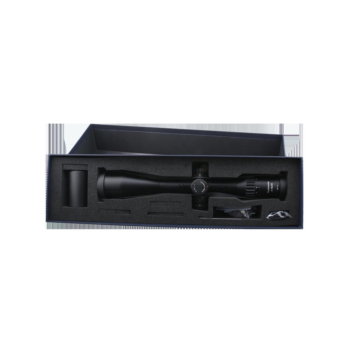 Continental 3-18x50 Tactical Riflescope