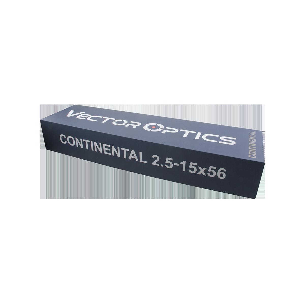 Continental 2.5-15x56 Riflescope BDC