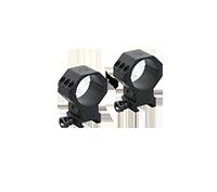 X-ACCU 34mm Adjustable Elevation Picatinny Rings