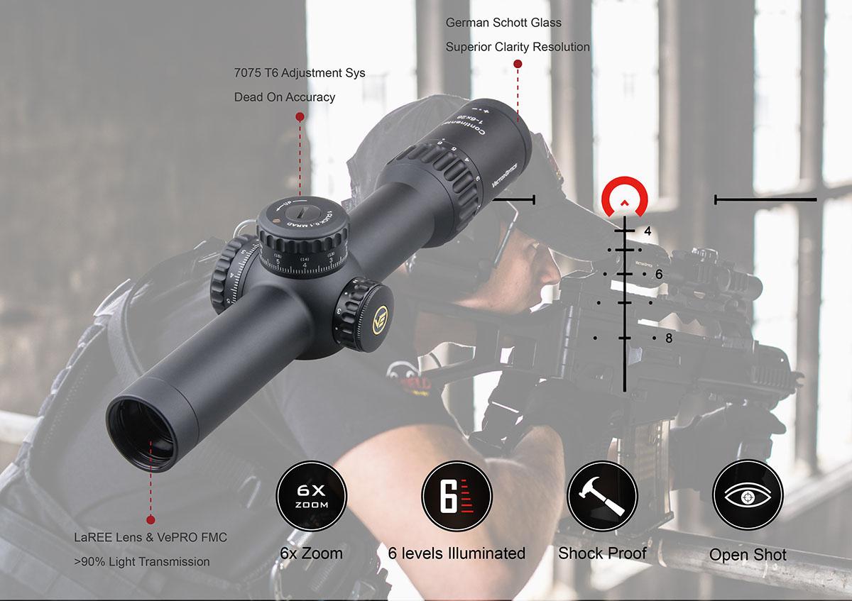 VO 34mm Continental 1-6x28FFP Acom Diagram 3