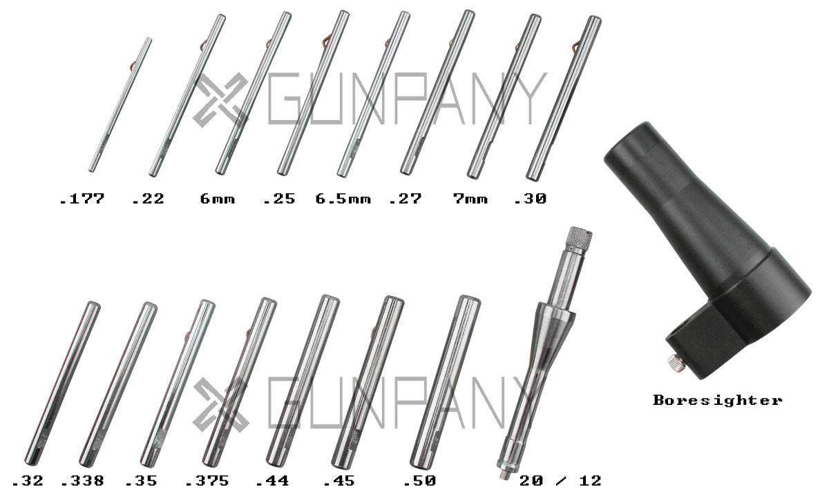 16 Pcs Boresighter Kit Acom 2-2