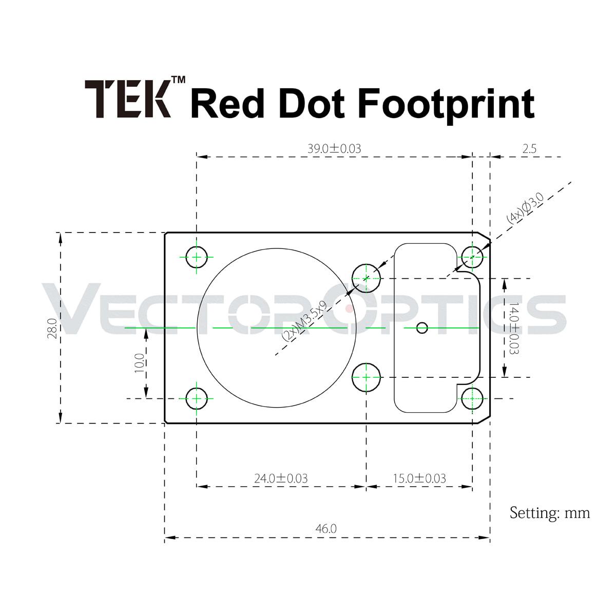 VO TEK Footprint Acom Diagram - 副本