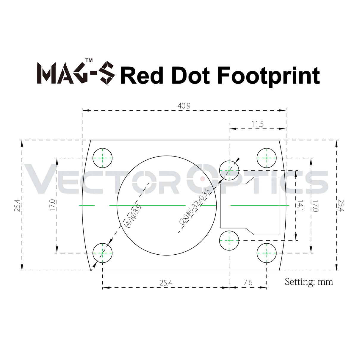 VO MAG-S Footprint Acom Diagram