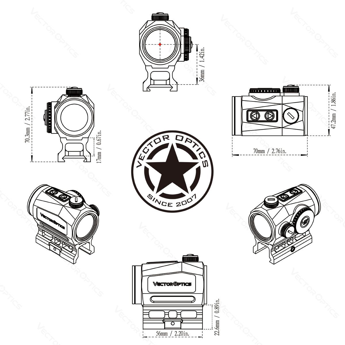 Scrapper 1x25 Acom CAD Diagram