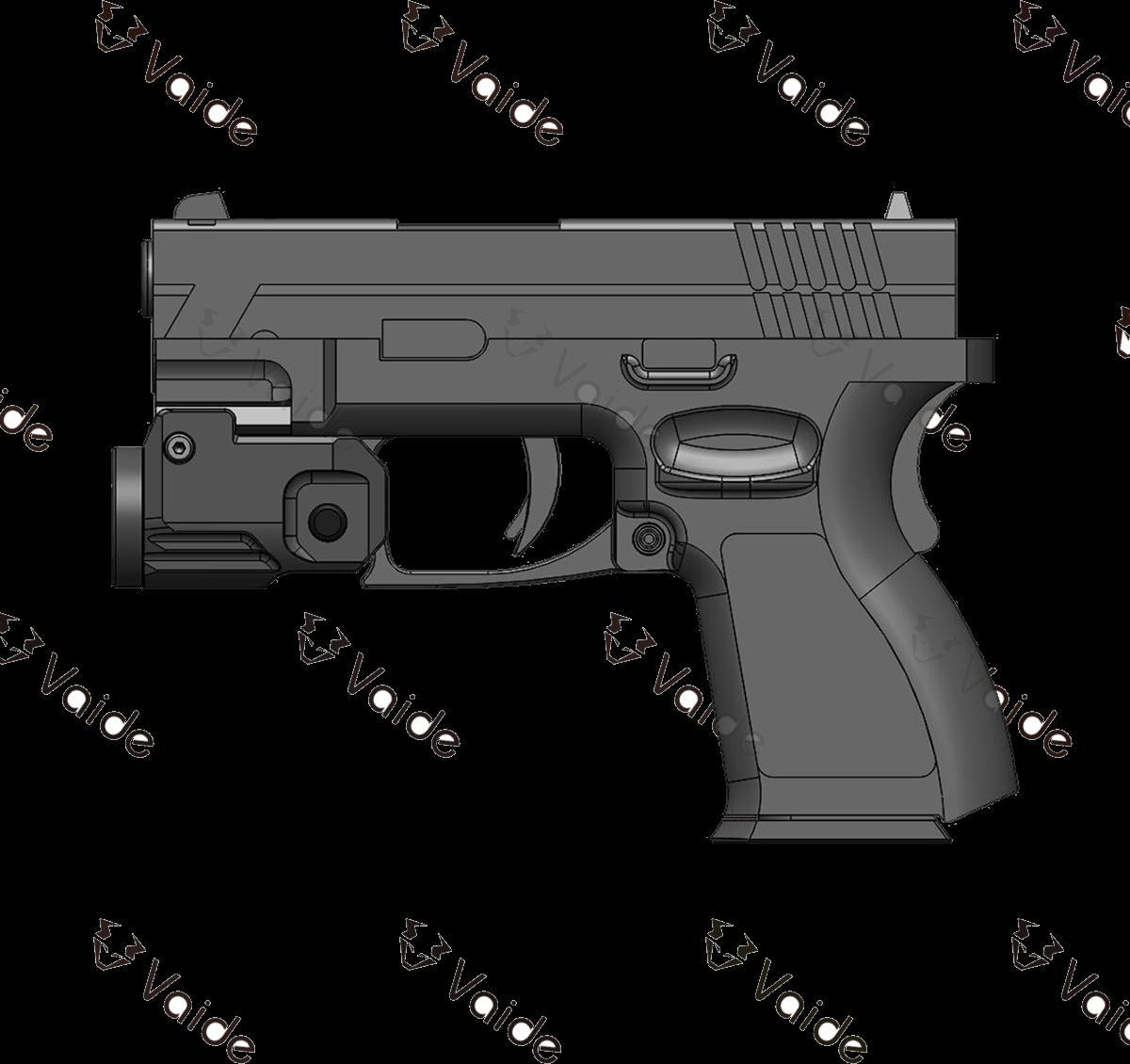 VAPL-01 Scrapper Pistol Flashlight Acom 13@1x